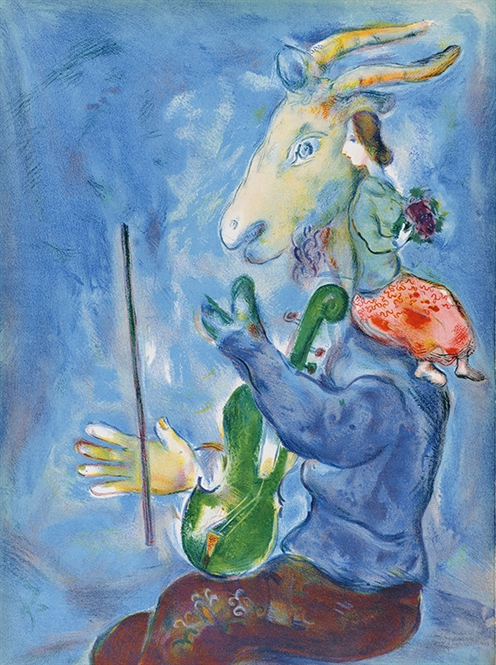 Marc Chagall : selling exhibition of lithographs & etchings 2017