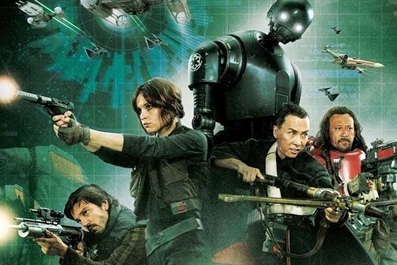 Rogue One : A Star Wars Story (12A) Ely Cinema - tickets available on the door from 7pm