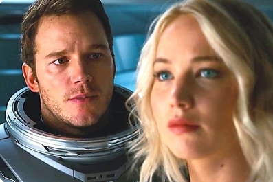 Passengers (12A) Ely Cinema - tickets available on the door from 7pm