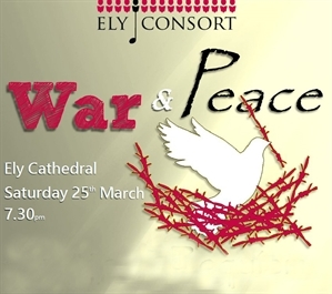 'War and Peace' Ely Consort, Ely Cathedral