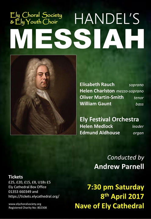 Ely Choral Society & Ely Youth Choir : Messiah