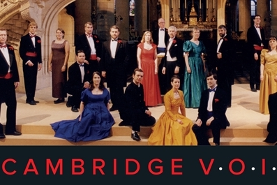 Cambridge Voices! 30th Anniversary Celebration! - standard tickets available on the door from 6.30pm