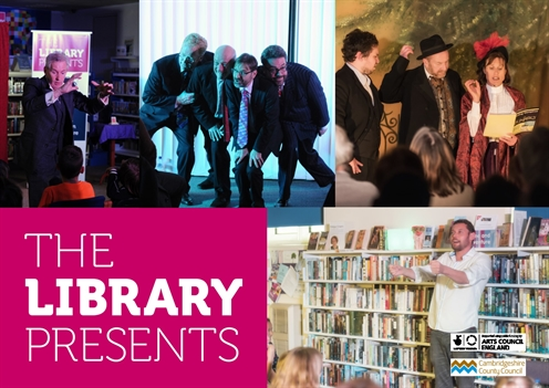 The Library Presents...Arts Alive programme for ten Cambridgeshire Libraries