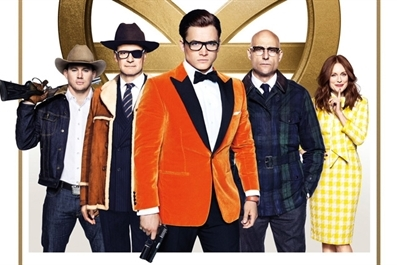 Kingsman : The Golden Circle (15) at Ely Cinema - tickets available on the door from 7pm