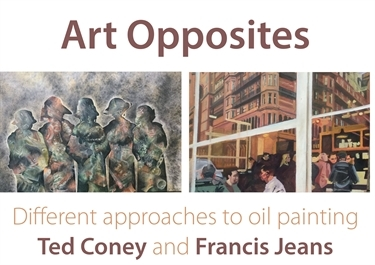 Art Opposites : Ted Coney & Francis Jeans