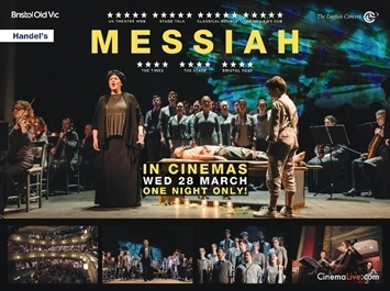 Messiah from Bristol Old Vic - for one night only at Ely Cinema
