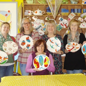 Create a Plate with Amanda MacPhail at Babylon ARTS
