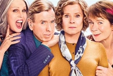Finding Your Feet (12A) at Ely Cinema - tickets available on the door from 7pm