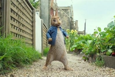Peter Rabbit (PG) at Ely Cinema 4pm