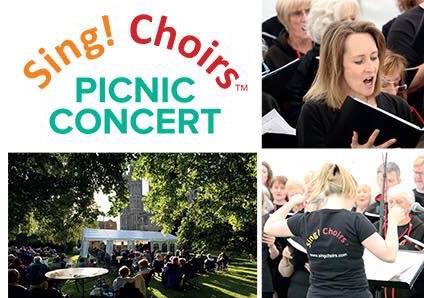 Sing! Choirs - Summer Sing and Picnic Concert - tickets available at the gate from 6pm