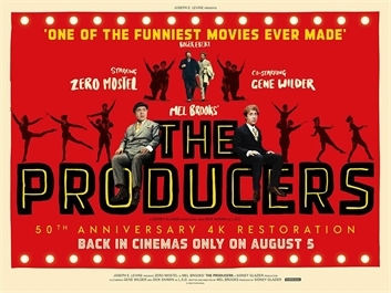 The Producers, 50th Anniversary Restoration (w/recorded intro) (12A) at Ely Cinema