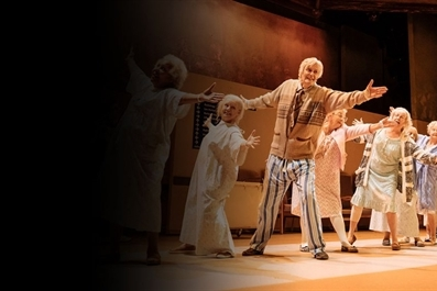 NT Encore: Allelujah! (15) by Alan Bennett at Babylon Gallery