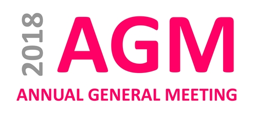 Invitation to our AGM 2018