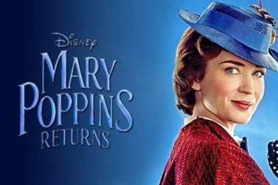 Mary Poppins Returns (U) Mother's Day Matinee at Ely Cinema