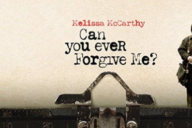 Can You Ever Forgive Me (15)  tickets available on the door from 7pm