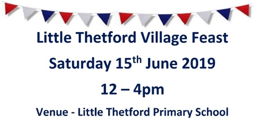 Little Thetford Feast 2019