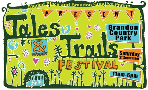Tales and Trails Festival: Saturday 21 September, 11am - 6pm