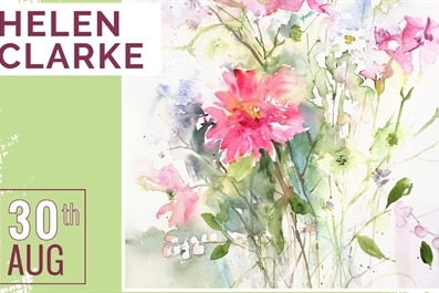 The Society of East Anglian Watercolourists Workshops - Helen Clarke