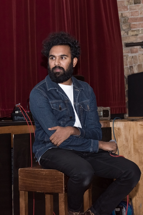 Great response to Himesh Patel's visit to Ely Cinema