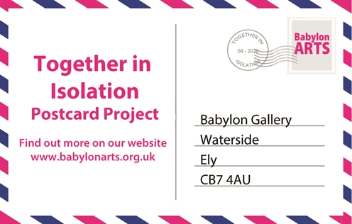 Together in Isolation - Postcard Project